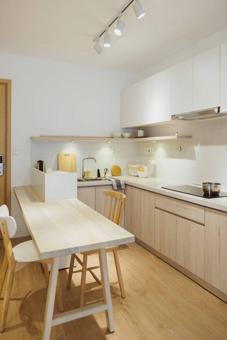 căn bếp tối giản