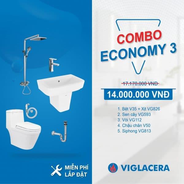 Combo Viglacera V35