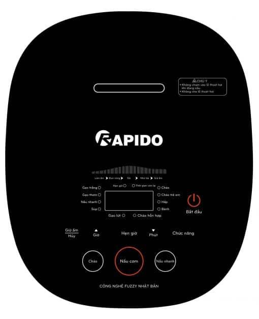 Nồi cơm điện tử Rapido RC-1.2D